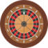Roulette icon transparant